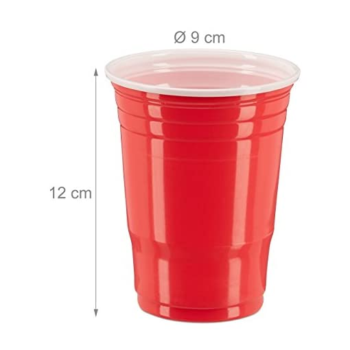 148-tlg-Beer-Pong-Set-50-rote-Trinkbecher-50-blaue-Becher-48-Beer-Pong-Blle-Plastik-Trinkspiel-rotblauwei