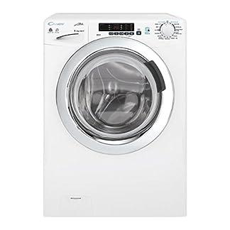 Candy-gvsw45-385dwc-01-autonome-Belastung-Bevor-B-wei-Waschmaschine-mit-Wschetrockner–Waschmaschinen-mit-Wsche-Belastung-vor-autonome-wei-links-Knpfe-drehbar-Edelstahl