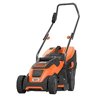 BlackDecker-Edge-Max-Elektro-Rasenmher-1400W-mit-34-cm-Schnittbreite-E-Drive-Technologie-und-Compact-Go-Funktion-EMAX34I-schwarz-orange