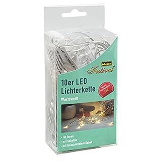 Idena-31116-LED-Lichterkette-mit-10-LED-in-warm-wei-mit-Schalter-fr-Partys-Weihnachten-Deko-Hochzeit-als-Stimmungslicht-ca-240-m