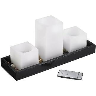 Britesta-Kerzen-mit-Batterie-Feng-Shui-Dekoration-LED-Echtwachskerzen-auf-Holztablett-LED-Kerzen-mit-Fernbedienungungen