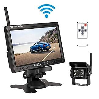 Auto-Rckfahr-Kamera-Monitor-IP68-wasserdichte-Nachtsicht-einfache-Installation-7-Zoll-LCD-Farbdisplay-Stabiler-Signalbertragung-fr-Auto-Bus-LKW-Schulbus-Anhnger