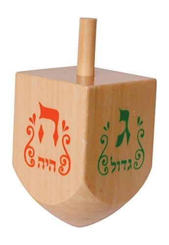 Chanukka-Kreisel-Kreisel-fr-Chanukkah-aus-Natural-Holz-Preis-fr-1-Hanukkah-Dreydle-sewiwon