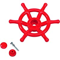 Ondis24-Lenkrad-Schiff-Boot-Steuerrad-Kinder-Spielzeug-rot