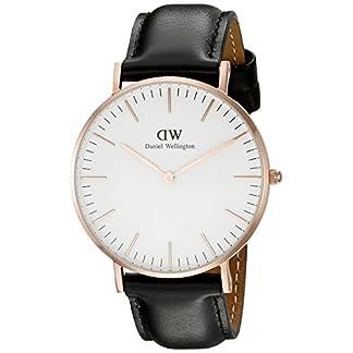 Daniel-Wellington-Classic-Damen-Armbanduhr-Analog-Quarz-Leder-DW00100036