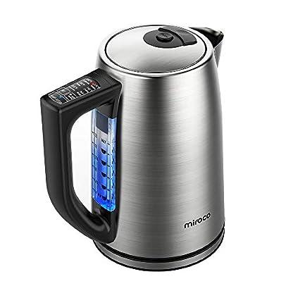 Elektrischer-Wasserkocher-Miroco-17L-Wasserkessel-Edelstahl-Teekessel-mit-6-Temperatureinstellung-und-Trockengehschutz-2000W-Elektrische-Kanne-mit-LCD-Anzeige-BPA-Frei-Silber