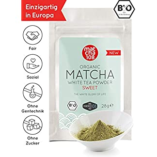 Matcha-Weier-Tee