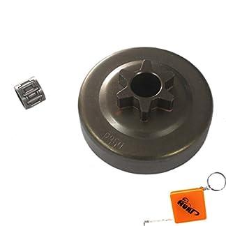 HURI-38-Kettenrad-Kupplungstrommel-Nadellager-passend-fr-Partner-350-351-370-390-420-Motorsge-kettensge-Poulan-2050-2055-2115-2150-2175-2250-2275