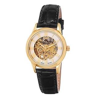 Yonger-Bresson-Damen-Armbanduhr-Saumur-Analog-Automatik-Leder-YBD-8525-03