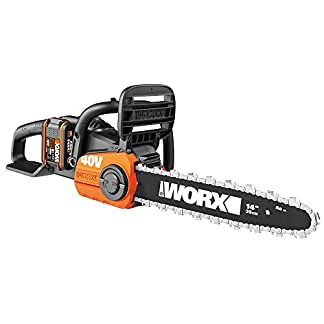 WORX-40V-Akku-Kettensge-WG384E-2-x-20Ah-Powershare-Brstenloser-Motor-Werkzeugloses-Kettenspannsystem-Schnellstopp-kettenbremse-Dual-ladegert-35cm-Stablnge