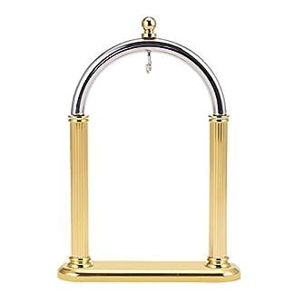 Bogenform-Golden-Kupfer-Pocket-Watch-Stand