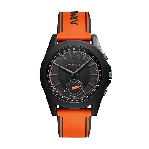 Armani-Exchange-Unisex-Hybrid-Smartwatch-AXT1003