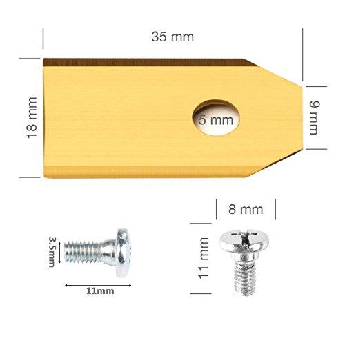 Vakki-30X-Titan-Messer-Ersatzklinge-Automower-Ersatzklinge-fr-Husqvarna-Automower-Extra-Firm-Gardena-35–18–075-mm-30-Schrauben-Anti-Rost-Titanbeschichtung