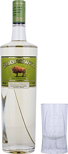 Zubrowka-Bison-Grass-Flavoured-Vodka-mit-Glas-1-x-1-l