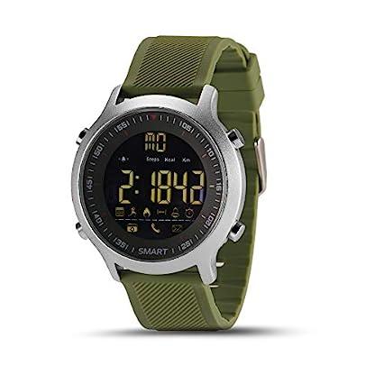 Smartwatch-Bluetooth-Armbanduhr-Fitness-Tracker-EX18-Smart-Watch-mit-Schrittzhler-Stoppuhr-fr-Damen-Herren-Kompatible-Android-iOS-Telefone