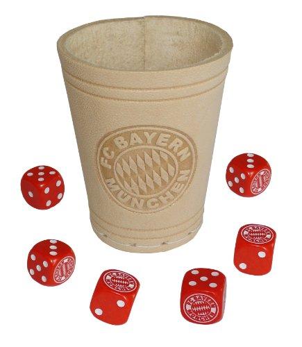 Teepe-17270-FC-Bayern-Wrfelbecher-mit-6-Wrfel