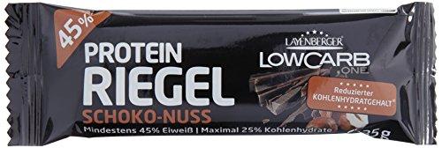 Layenberger LowCarb.one Protein-Riegel Schoko-Nuss, 18 Stück à 35g, 1er Pack (18 x 35 g)