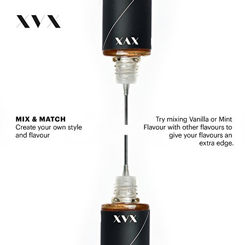 XVX E Liquid  Minze VG Geschmack  Flüssigkeit für Elektronische E-Zigarette  Liquid für Elektronische Shisha  10ml Flasche  Nadelspitze  Präzisionseinspritzung  Wählen Sie Ihren Lifestyle  Digitales Rauchen  Nikotin frei  Tabak frei