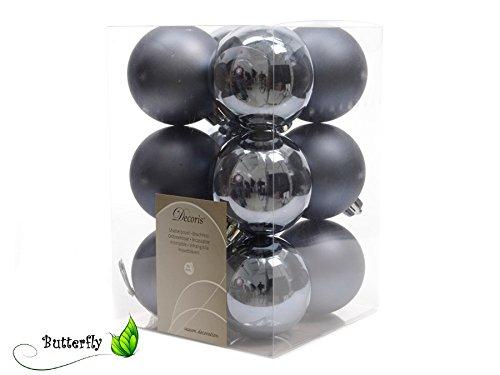 12-Christbaumkugeln-60mm-Kunststoff-Baumkugeln-Weihnachtsdeko-Kugeln