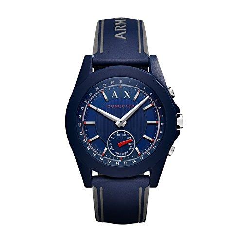 Armani-Exchange-Unisex-Hybrid-Smartwatch-AXT1002