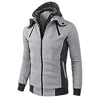 Luckycat-Herren-Kapuzenpullover-Hoodie-Feinstrick-Herbst-Winter-Windjacke-Strickjacke-Langarm-Mit-Kapuze-Warme-Jacke-Mantel-Mode-2018