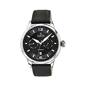 Dugena-Mechanik-Herren-Armbanduhr-Kappa-Kalender-Automatik-Analog-Automatik-Leder-7000304