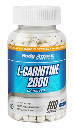 Body Attack L-Carnitine 2000 – 100 Caps