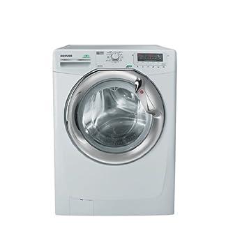 Hoover-DYN-9125-DZG-autonome-Belastung-Bevor-9-kg-1200trmin-A-Wei-Waschmaschine-Waschmaschinen-autonome-bevor-Belastung-wei-links-silber-Knpfe-drehbar