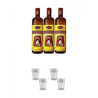 Velho-Barreiro-Silver-Cachaca-Originalabfllung-3-x-10-Liter-Velho-Barreiro-Caipirinha-Glas-2-Stck-Velho-Barreiro-Caipirinha-Glas-2-Stck