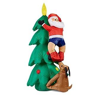 oneConcept-Santa-XXL-Weihnachtsmann-Figur