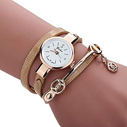 Armbanduhr-Damen-Ronamick-Frauen-Metall-Band-Uhr-Uhren-Damenuhren