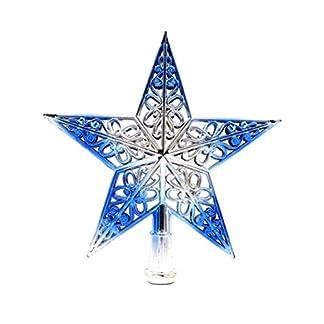 Tinksky-Ausgehhlter-Weihnachtsbaum-Top-Schein-Stern-Glitzernder-hngender-Weihnachtsbaum-Topper-Dekoration-Ornamente-Wohnkultur-silbrig-blau