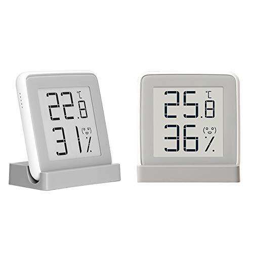 Thermo-Hygrometer-Raumklimakontrolle-Raumlufterwachtung-Hygrometer-Luftfeuchtigkeit-Raum-Thermometer-mit-Extra-Groem-LCD-Display-und-Weckalarm-mit-Snooze-Funktion