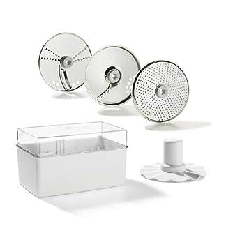 Genius-Feelvita-Food-Processor-Scheiben-5-Teile-Kchenmaschine-Bekannt-aus-TV-NEU