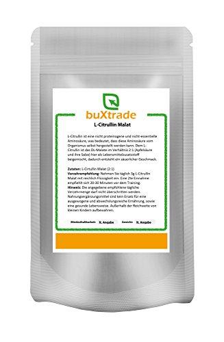1 kg L-Citrullin Malat Pulver | L Citrullin DL-Malat 2:1 | Pulverform