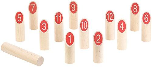 Playtastic-Wikinger-Spiel-aus-Holz-Wikinger-Kegel-Spiel-aus-Massivholz-fr-Drauen-mit-Transporttasche-Garten-Outdoor-Spiele
