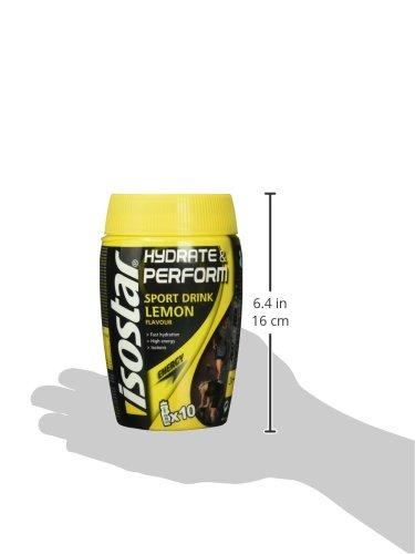 Isostar Hydrate und Perform Zitrone, 1er Pack (1 x 400 g)