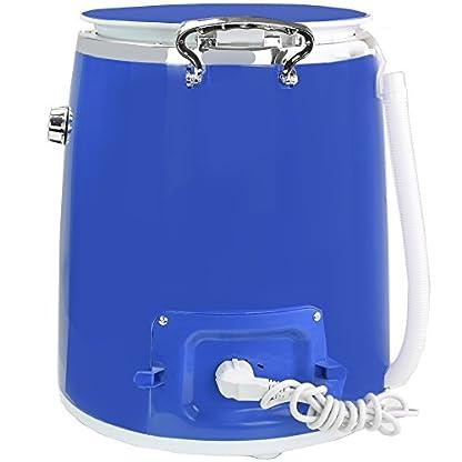 Syntrox-Germany-3-Kg-WM-380W-Waschmaschine-mit-Schleuder-Campingwaschmaschine-Mini-Waschmaschine-Blau