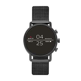 Skagen-Damen-Digital-Smart-Watch-Armbanduhr-mit-Edelstahl-Armband-SKT5109