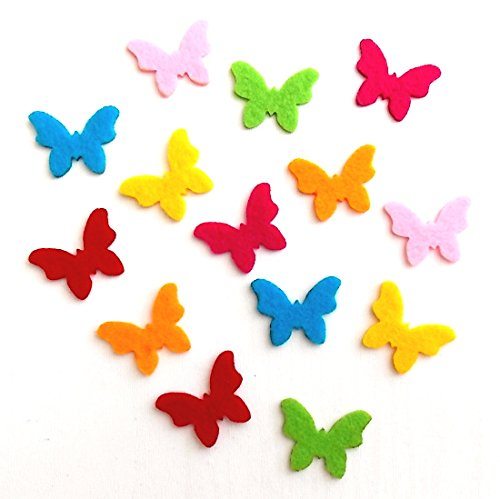 Bastelfilz Figuren Set – Kleiner Schmetterling, Filz, Textilfilz, Streudeko
