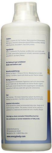 Energybody L-Carnitin Liquid Orange, 1er Pack (1 x 1 l)