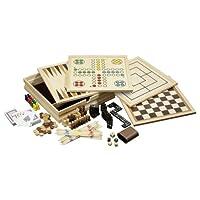 Philos-3098-Holz-Spielesammlung-medium-mit-10-Spielmglichkeiten