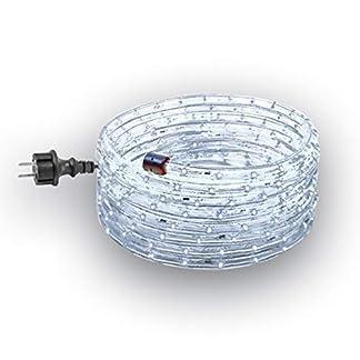 GEV-LED-Lichtschlauch-Set-230-V-steckerfertig-fr-Innen-und-Auenbereich-Durchmesser-13-mm-Party-Weihnachten-Leuchtdekoration-IP-44-Plastik-Kaltwei-14-m-x-13-x-13-cm