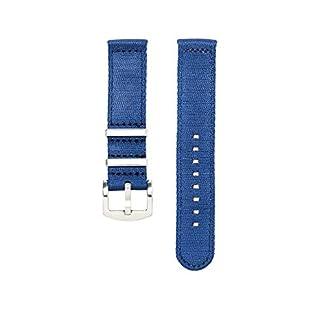 Zweiteiliges-NATO-Uhrenarmband-Blau