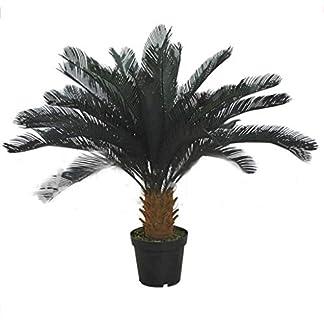 XUANLAN-Realistischer-knstlicher-Baum-Simulations-Eisen-Baum-Flschungs-Baum-knstliche-grne-Pflanzen-groer-Baum-Tropische-Wsten-Boden-Dekoration-ohne-Becken-Leicht-zu-reinigen