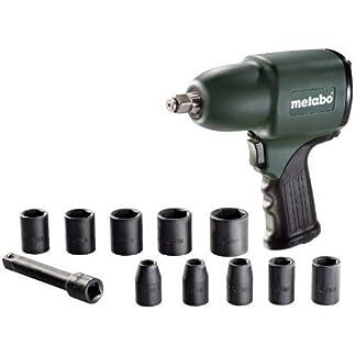 Metabo-Druckluft-Schlagschrauber-DSSW360-im-Set-62-barVierkant-125-mm-12-Zoll-Lsedrehmoment-360-Nm-inkl-10-teiligem-Steckschlsselset-und-Koffer