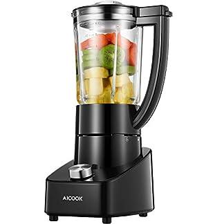 Mixer-Glas-Standmixer-700W-mit-21000-Umin-Mixer-Smoothie-Maker-mit-2-Geschwindigkeiten-und-Rostfreiem-Titan-Klinge-Ice-Crusher-Schwarz