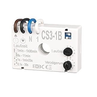 Elektrobock-CS3-1B-Nachlaufrelais-Unterputz