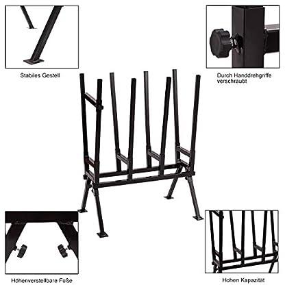 COSTWAY-Sgebock-Sgegestell-Holzbock-Sgehilfe-Sttzbock-Sgestnder-Kettensge-Brennholz-Belastbar-bis-200-kg
