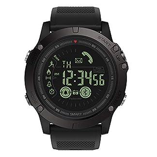 Zeblaze-Vibe-Herren-Damen-Stahlgrtel-Uhren-Sport-Smart-Armbanduhr-PulsmesserBlutdruckFitness-Tracker-IP68-Wasserdicht-Chronograph-Schrittzhler-Watch-Fr-IOSAndroid